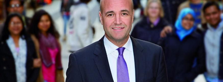 MittFöretags exklusiva valintervjuer: Fredrik Reinfeldt