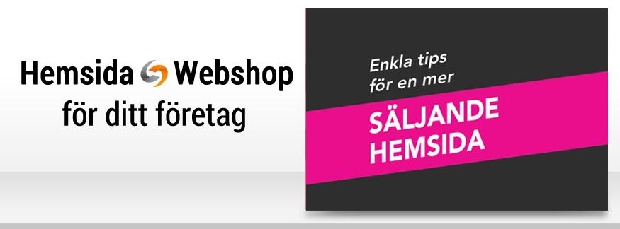 Enkla tips för en mer säljande hemsida!