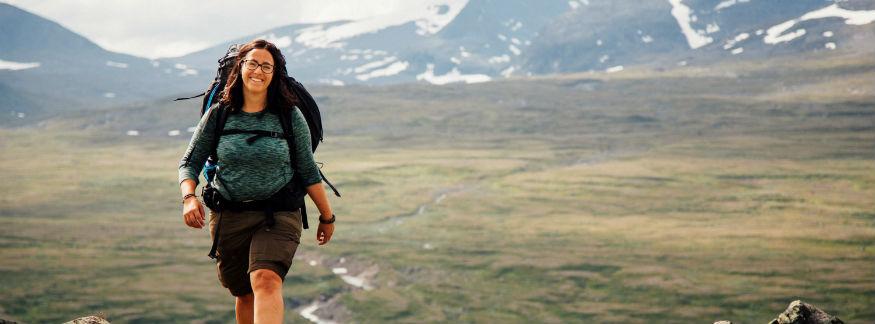 Så skapade hon Sveriges största blogg om vandring