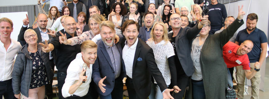Mingelbilder från Världens bästa företag 2023 i Eskilstuna
