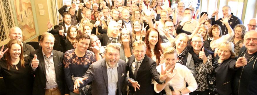 Mingelbilder från Världens bästa företag 2023 i Dalarna
