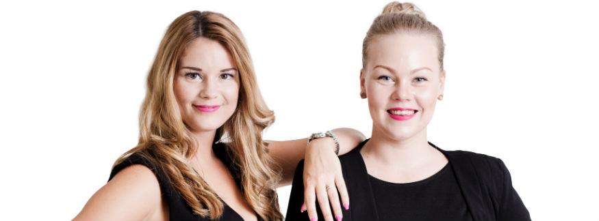 Cecilia Kärrberg och Jenni Laapotti på Digitalsnack blev Stjärnföretagarna 2018 i Karlstad