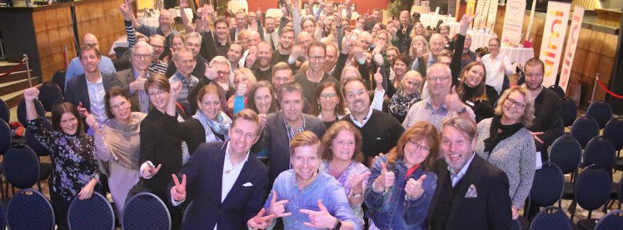 Mingelbilder från Världens bästa företag 2023 i Karlstad