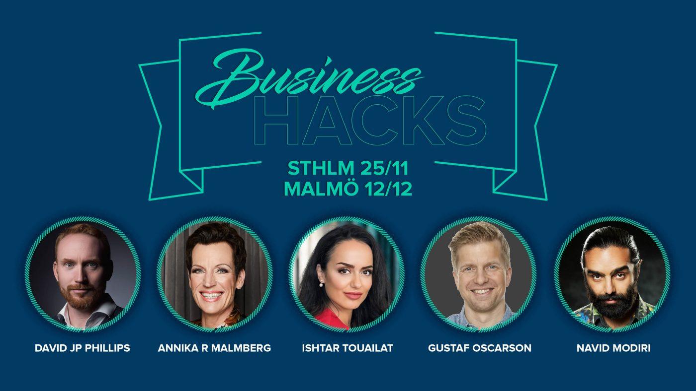 Business Hacks Malmö Stockholm