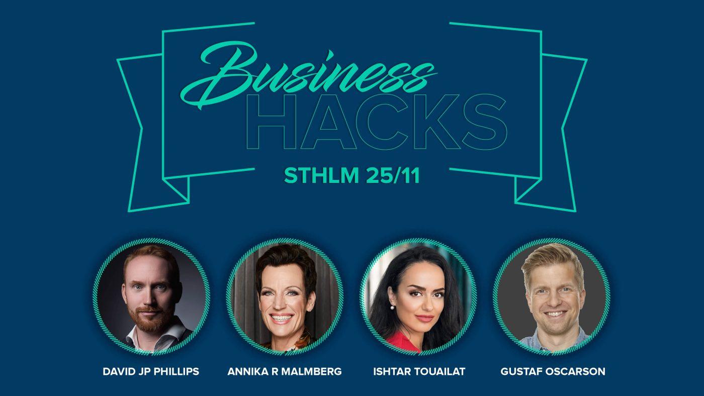 Business Hacks i Stockholm
