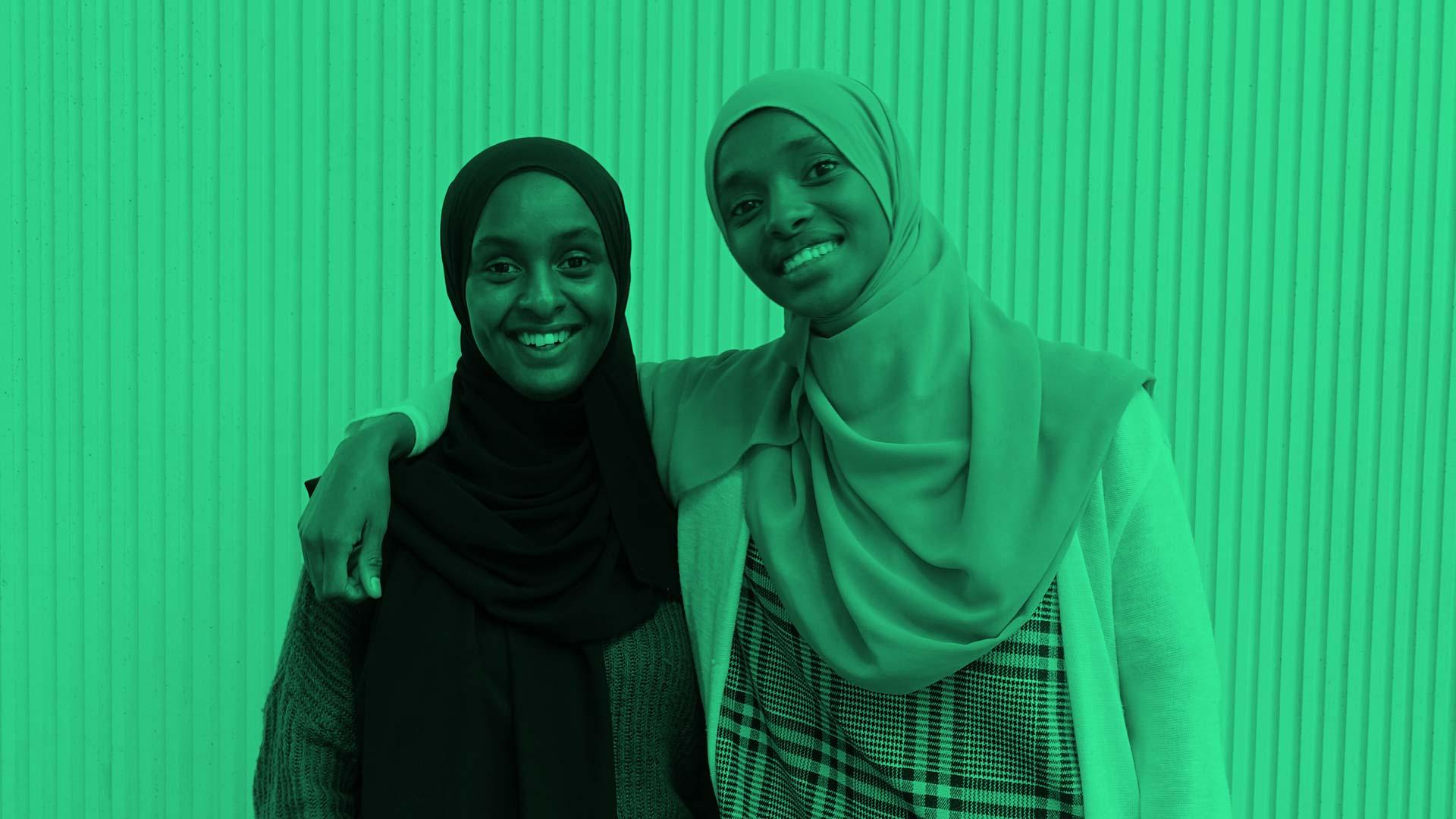 Bling Deqa Abukar och Amal Said
